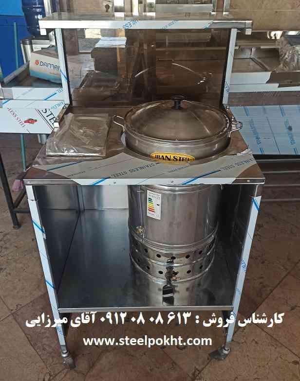 دستگاه پخت ذرت مکزیکی ویترینی